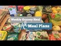 Weight Watchers Freestyle Grocery Haul & Meal Plans | 02.03.18