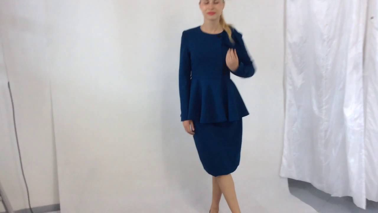Marycrafts Women S Classy Vintage Classic Business Skirt Suit Youtube