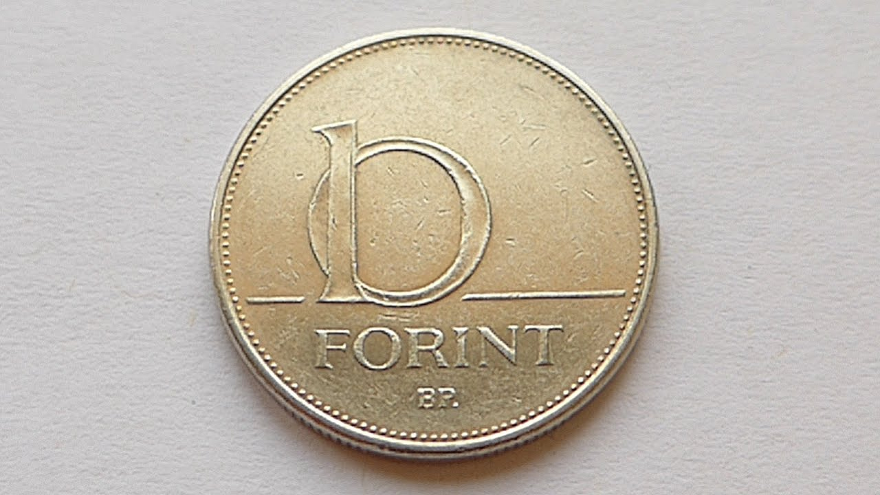 10 Forint Coin Hungary 2007
