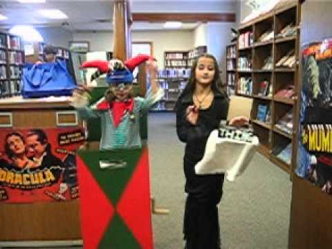 halloween 2015 morticia adams thing and jack in the box costumes youtube - Halloween Box Costumes