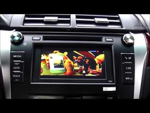 Camry V50 6,2 - Навигация, ТВ, ДВД на штатный монитор