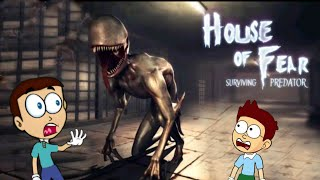 House of Fear : Surviving Predator - Android Game  Shiva and Kanzo Gameplay