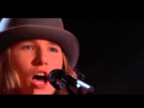 The Voice 2015 Blind Audition Sawyer Fredericks I Am a Man o