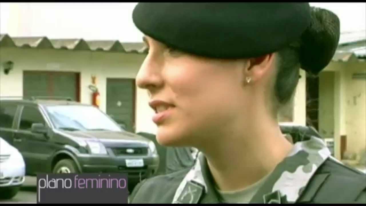 Mulher e Policial Militar do Pelotão de Choque - YouTube aebb35498a7