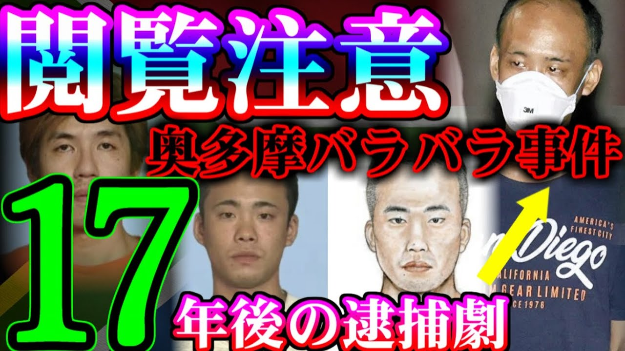 【解決した未解決】奥多摩バラバラ事件【17年後の逮捕劇】
