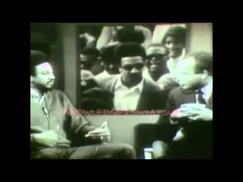 Malcolm X and H Rap Brown