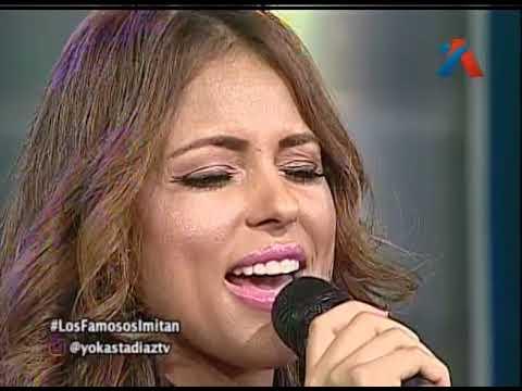 Yokasta Diaz Imitando A Thalia en aqui se habla español
