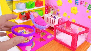 DIY Miniature Baby Playroom & Playpen, Ball Pit, Baby Potty thumbnail
