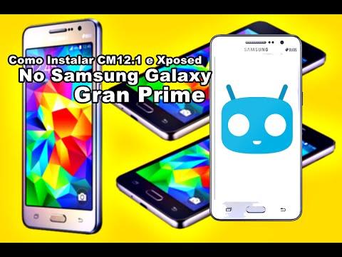 Como Instalar CM12.1 e Xposed No Samsung Galaxy Gran Prime