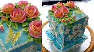 """УКРАШЕНИЕ ТОРТОВ , Торт """"ПРОВАНС"""" от SWEET BEAUTY СЛАДКАЯ КРАСОТА,  Cake decoration"""