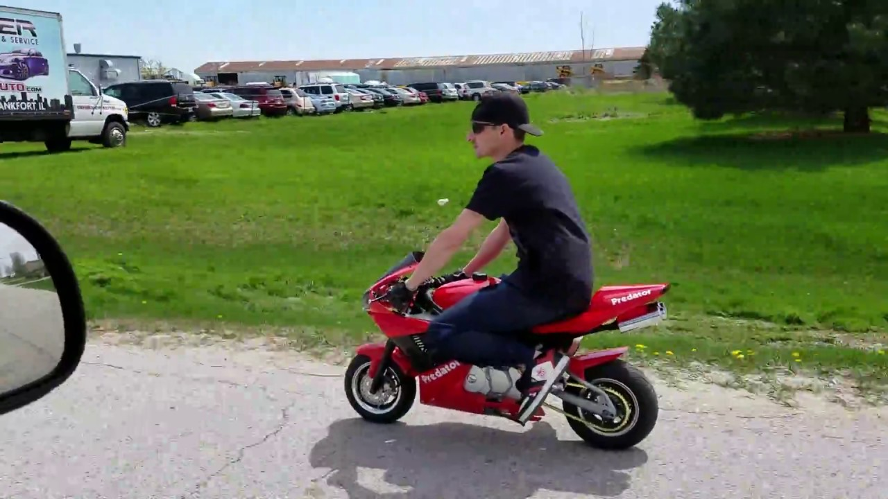 110cc X18 - X7 Super Bike Fully Automatic Bigger Than Pocket Bike with  Electric Start