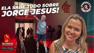 Jornalista portuguesa que sabe tudo de Jorge Jesus abre o jogo sobre o novo técnico do Flamengo!