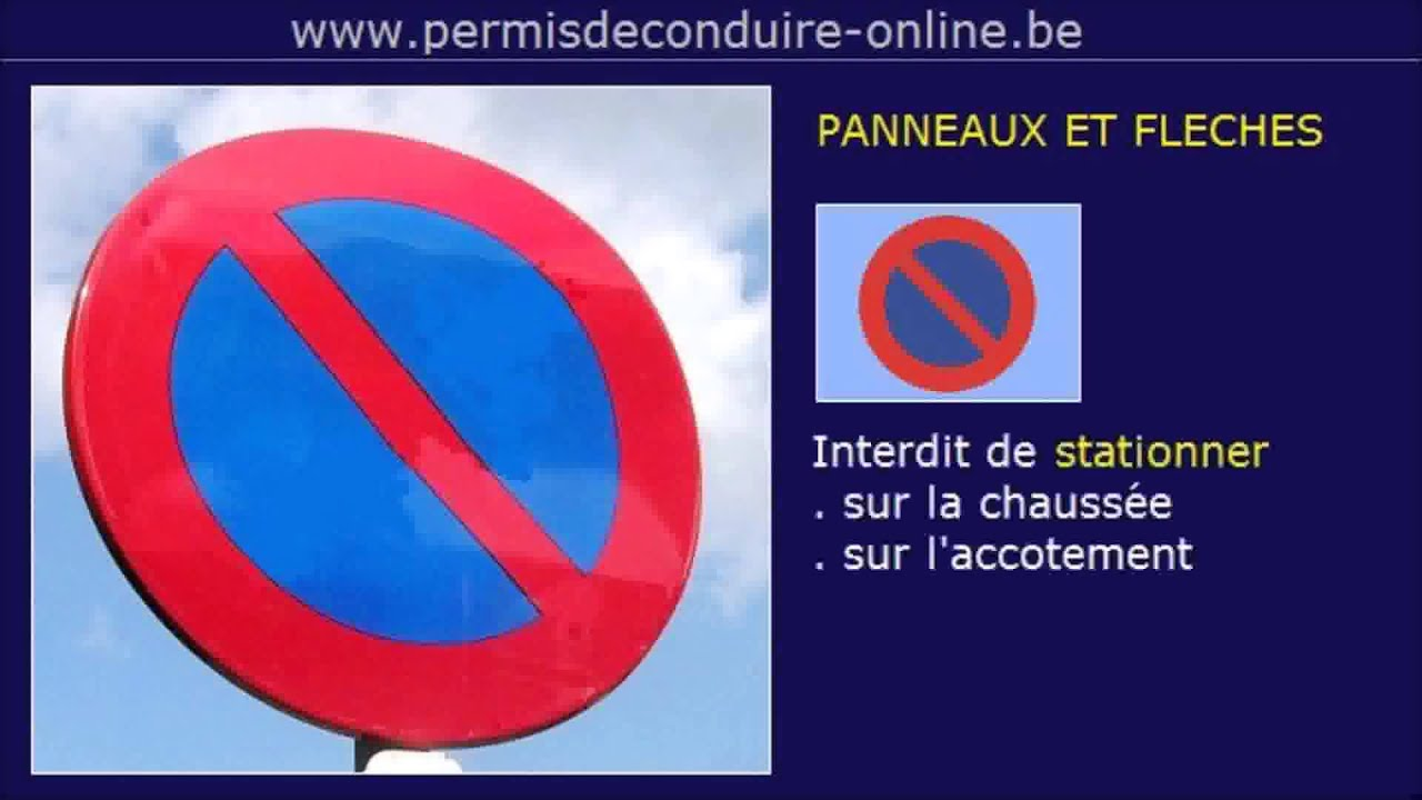 Les Regles Stationnement Alterne Semi Mensuel Et Fleches Permis B Permis De Conduire Online