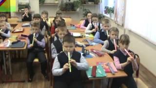Урок-концерт учеников начальной школы 1- 4 классы.