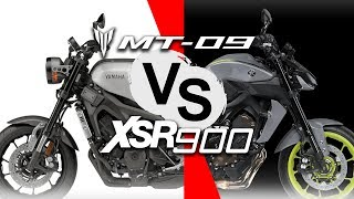 MT09 vs XSR900 test review by 6Tdegrees