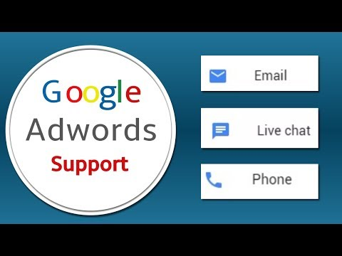 Google Adwords Support Through Email, Live Chat, Phone