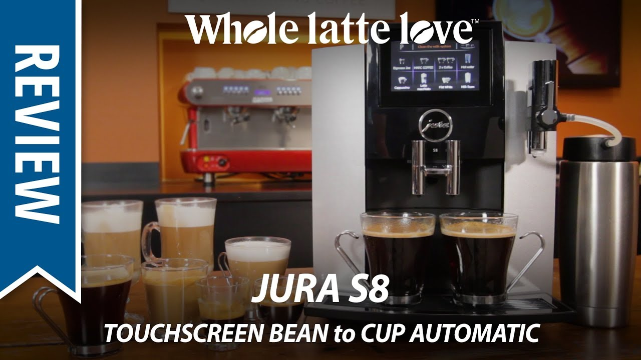 Review Jura S8 Touchscreen Automatic Bean To Cup Coffee Machine