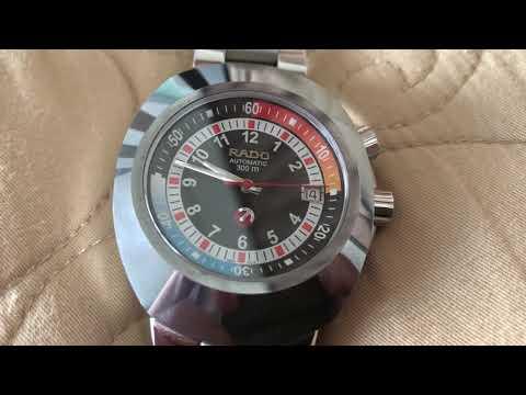Rado Original Diastar Diver Automatic Model R12639023 - movement