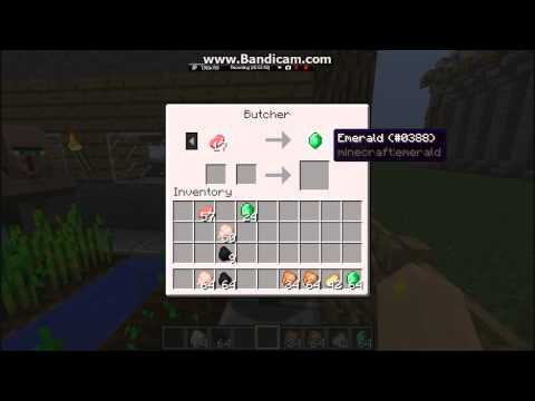 Minecraft Tips on Trading part 4 (Butcher & Leather Worker)