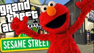 THE ULTIMATE ELMO MOD (GTA 5 PC Mods Gameplay)
