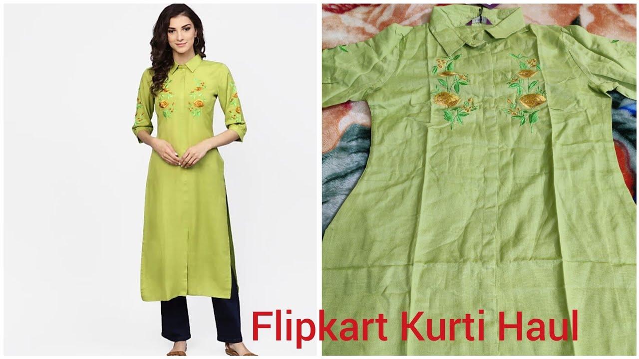 Flipkart Online Shopping Haul ll Flipkart Kurti Haul ll ...
