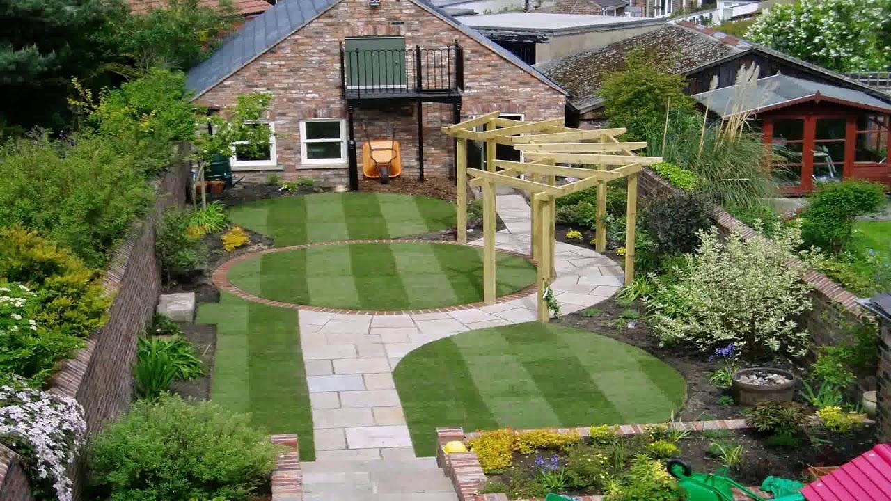 Landscape Design Square Backyard - YouTube on Square Backyard Design Ideas id=28903