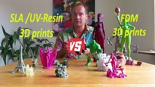 UV-resin 3D prints 🆚 FDM 3D prints (Choose the right 3D printer)