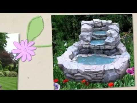 Fontane da giardino youtube for Laghetti e cascate da giardino