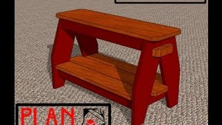 Chief's Shop Plan Of The Week: Shoe Bench
