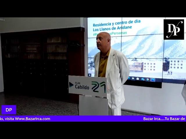 Presentación Proyecto Residencia de Mayores Los LLanos de Aridane.