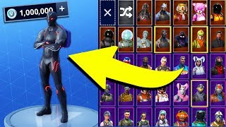 Le RICHEST FORTNITE ACCOUNT! 'BUYING 1,000,000 V BUCKS pt. 2! Gameplay de Fortnite Battle Royale