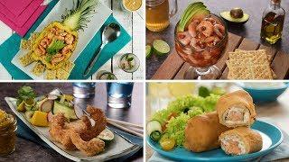 4 formas de preparar camarones
