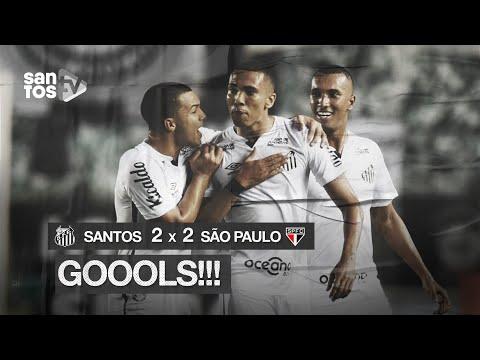 SANTOS 2 X 2 SÃO PAULO | GOLS | BRASILEIRÃO (12/09/20)