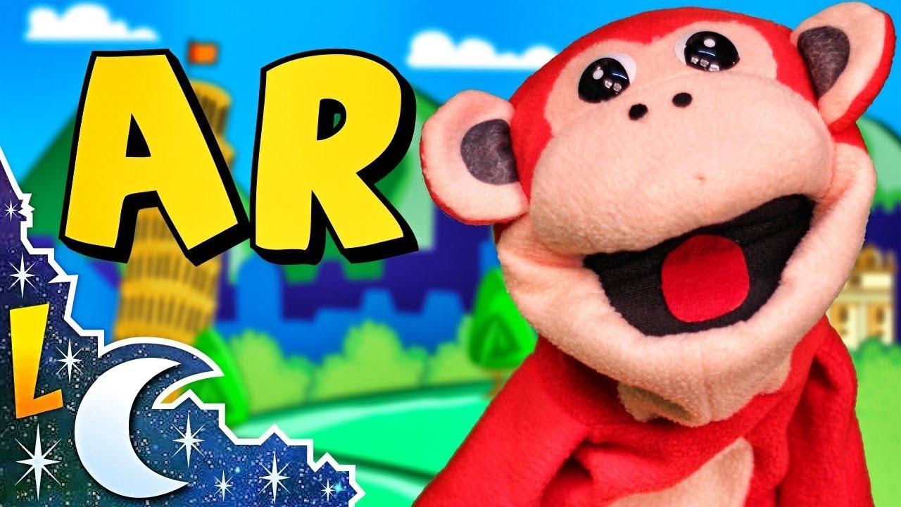 Sílabas ar er ir or ur | El Mono Sílabo | Videos Infantiles | Educación para Niños | Lunacreciente
