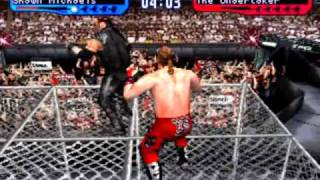 WWF SmackDown! 2: Know Your Role - Shawn Michaels vs The Undertaker - Hell in a Cell