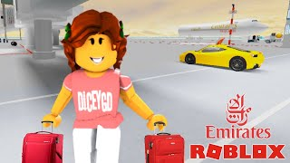 Roblox Emirates First Class flight | Emirates A380 | Investor