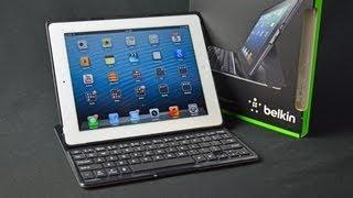 belkin ultimate keyboard case for ipad unboxing review