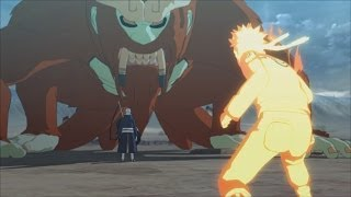 Ninja Storm 3 Full Burst PC - Walkthrough Part 59 [ Naruto Bijuu Mode vs The Tailed Beasts ]