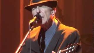 Leonard Cohen, Chelsea Hotel No2, Boston 16-12-2012