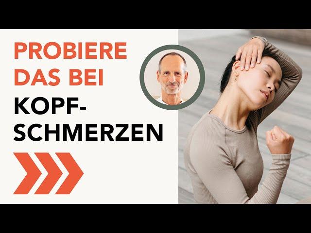 Spannungskopfschmerzen - Machen Sie sich frei von Kopfschmerzen