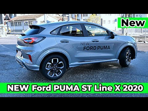 Ford Puma St Line X 2020 New Review Youtube