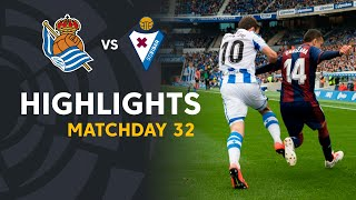 Highlights Real Sociedad vs SD Eibar (1-1)