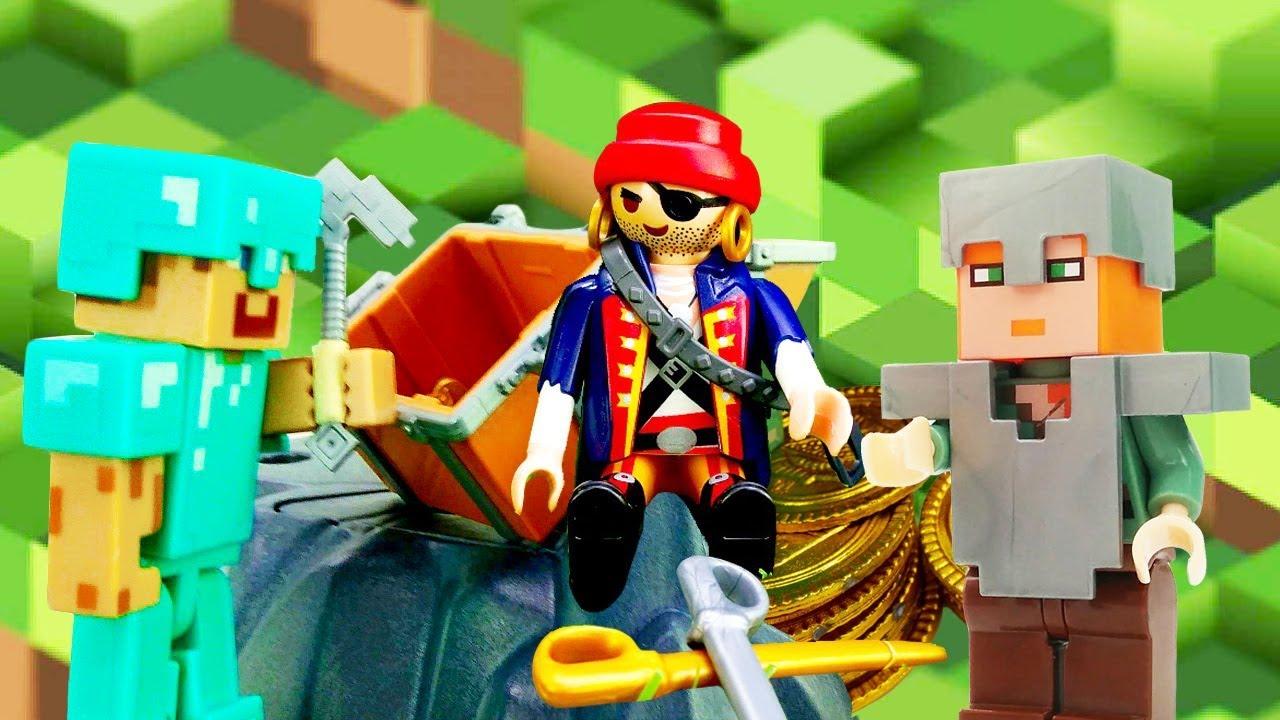 Видео игры для мальчиков - Стив Майнкрафт и сокровища ...