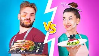 Boys vs Girls - Who Will Win?  Haute Cuisine Recipes