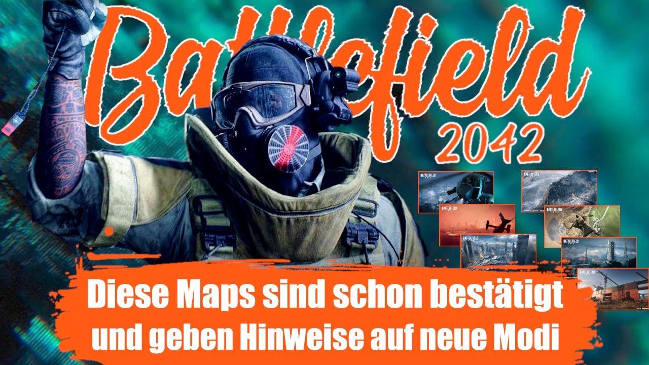 Das sind alle Karten die wir zum Release von Battlefield 2042 bekommen I Neue Spielmodi enthalten ?
