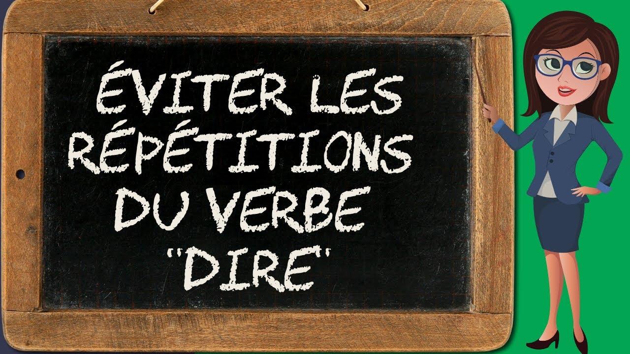 Liste 1 Synonymes Du Verbe Dire Varier Ses Verbes De Paroles Dans Les Dialogues Bien Ecrire