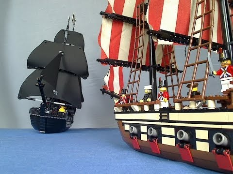 Thumbnail: Lego Pirate Sea Battle - Lego Police Chase Part 3
