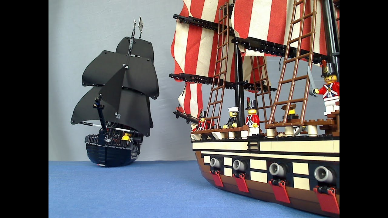 lego pirate sea battle