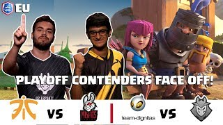 CRL Europe: Fnatic v. Misfits | Team Dignitas v. G2