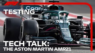 How New Is Aston Martin's AMR21? | Tech Talk | 2021 Pre-Season Testing